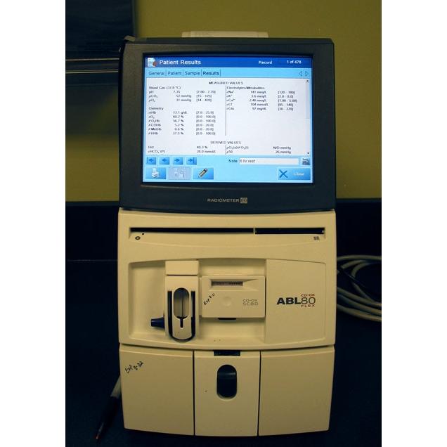Автоматический мобильный анализатор газов крови abl80 водительская медицинская справка купить в
